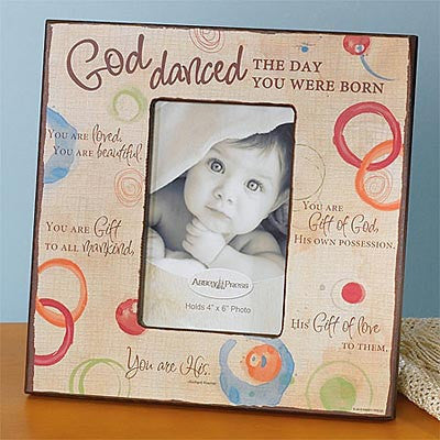 God Danced Photo Frame