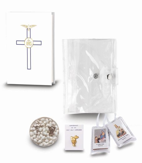 Blessed Trinity 5 piece Gift Set - White