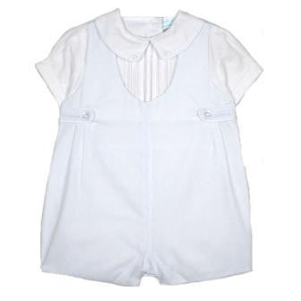 Boys Short Sleeve Christening Outfit