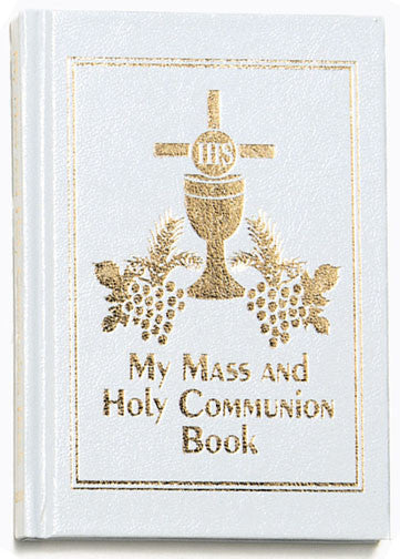 My Mass and Communion Book - White