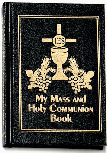 My Mass and Communion Book - Black