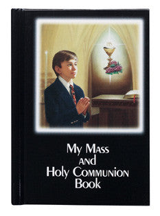 My Mass and Communion Book - Color Cover - Black