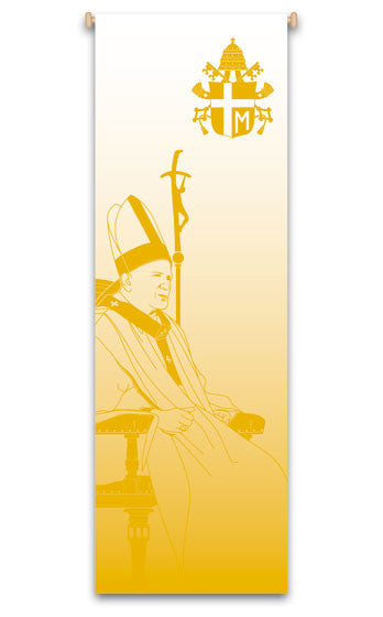 Blessed Pope John Paul II Banner