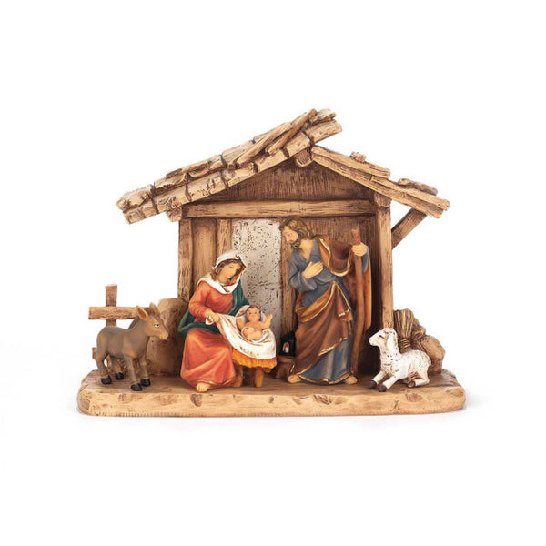 Nativity Set with Creche