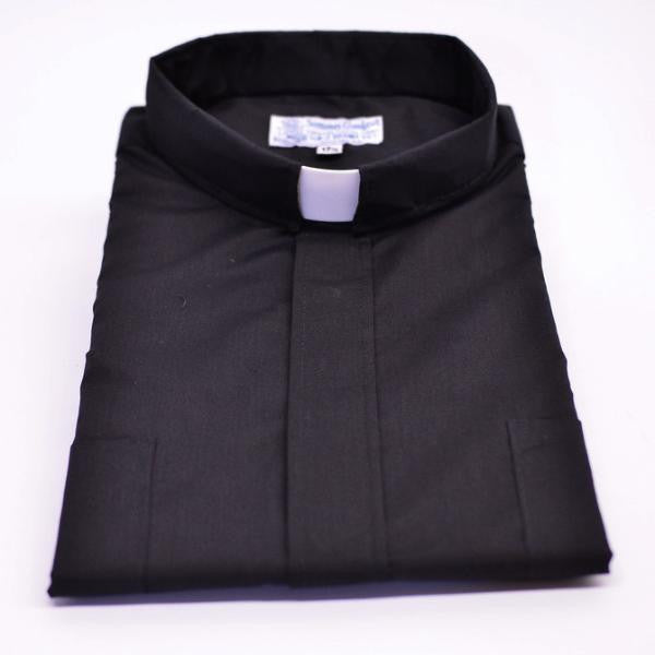 Tab Collar Short Sleeve Clergy Shirt