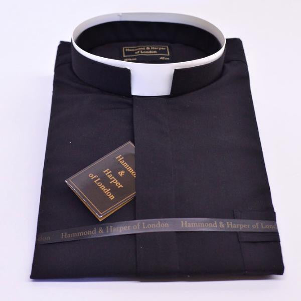 Short Sleeve Tonsure Clergy Shirt
