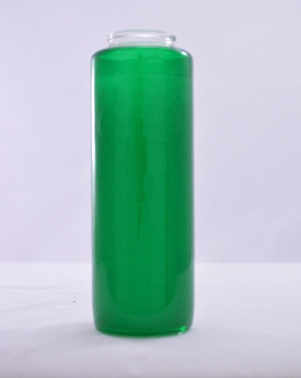 Glass Offering Candles - 6 Day Green