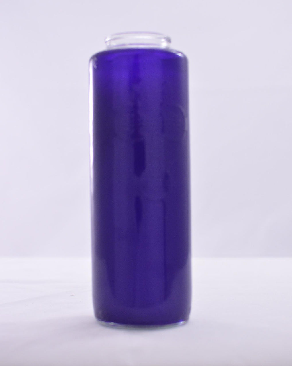 Glass Offering Candles - 6 Day Purple