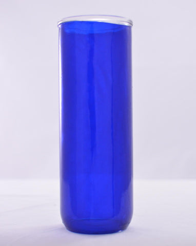Reusable Glass Globes - Blue