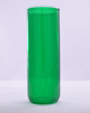 Reusable Glass Globes - Green