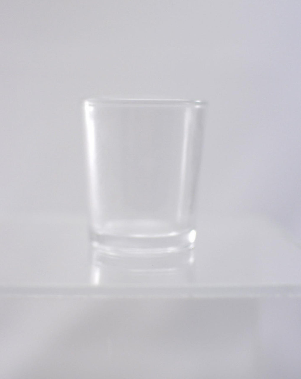 Hourly Votive Glass - Crystal