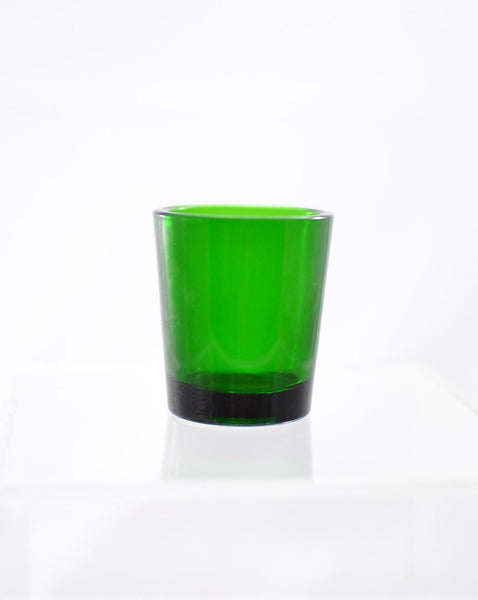 Hourly Votive Glass - Green