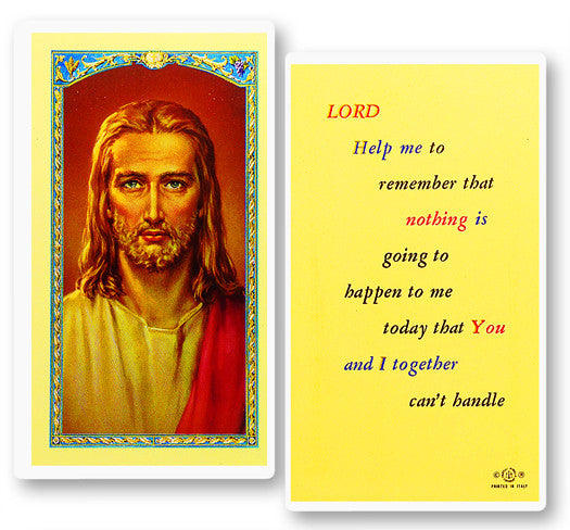 Lord Help Me Holy Card