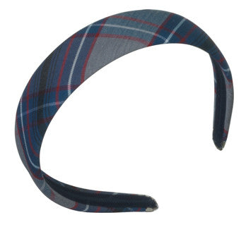 Plaid Padded Headband