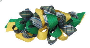 Ribbon & Plaid Barrettes