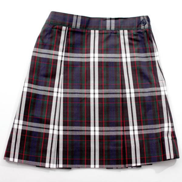 Plaid School Uniform Skirt