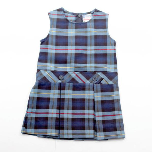 Plaid School Uniform Jumper