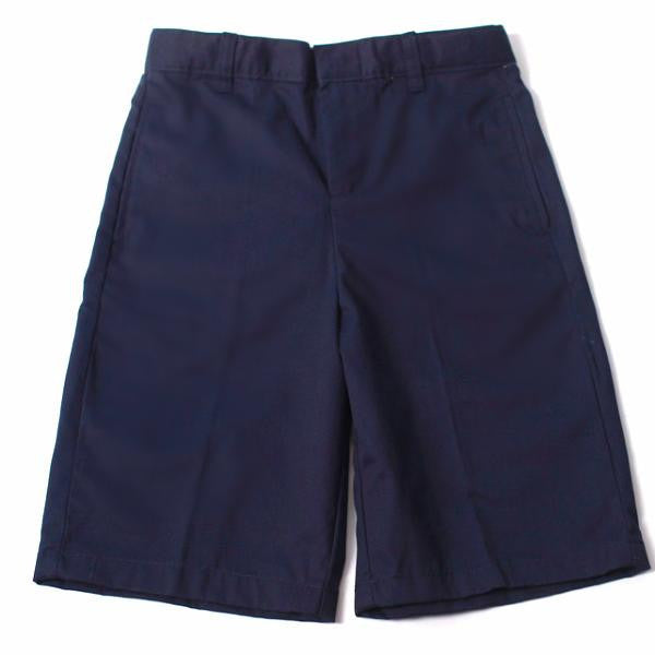 Boys Navy Adjustable Waist Short