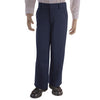 Boys Navy Adjustable Waist Double-Knee Pant