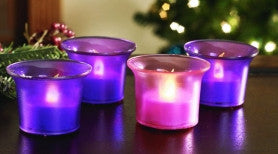 LED Adent Votive Set
