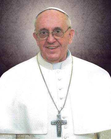 Pope Francis Formal Print