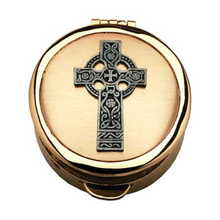 Pyx - Celtic Cross Design
