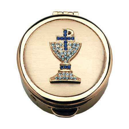 Pyx - Jeweled Chalice Design