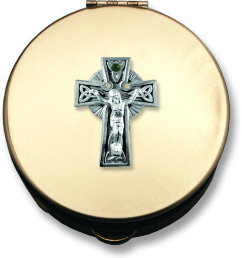 Pyx - Celtic Crucifix Design