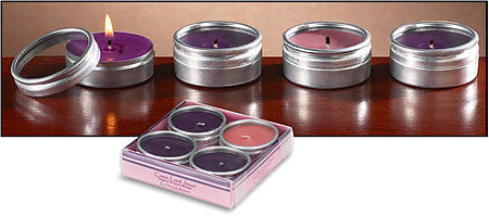Advent Metal Tea Light Set