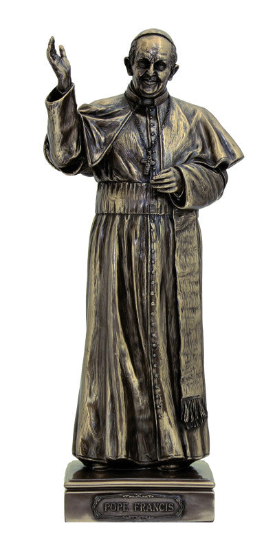 Pope Francis Statue - Bronze
