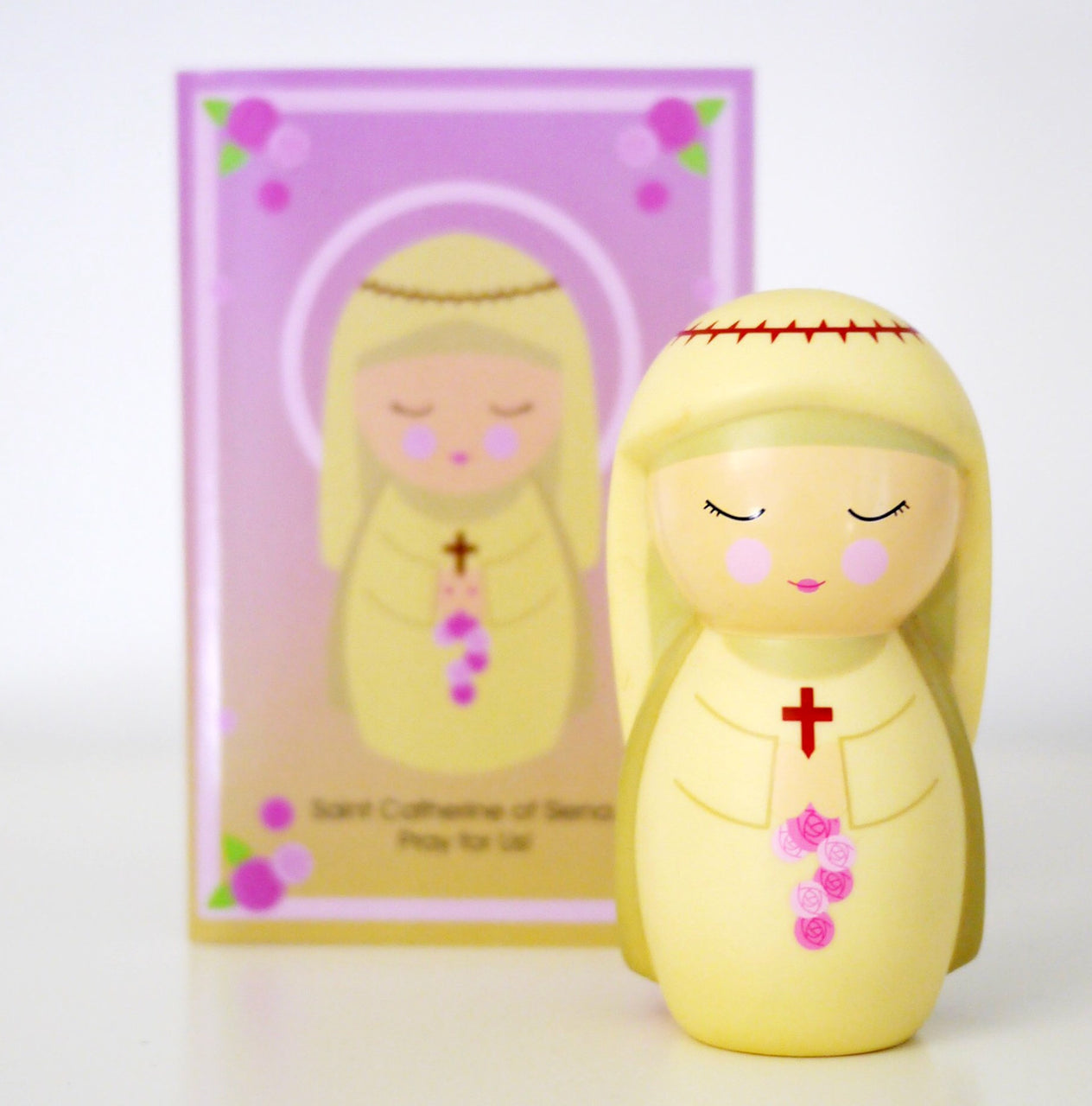 St. Catherine of Siena Shining Light Doll