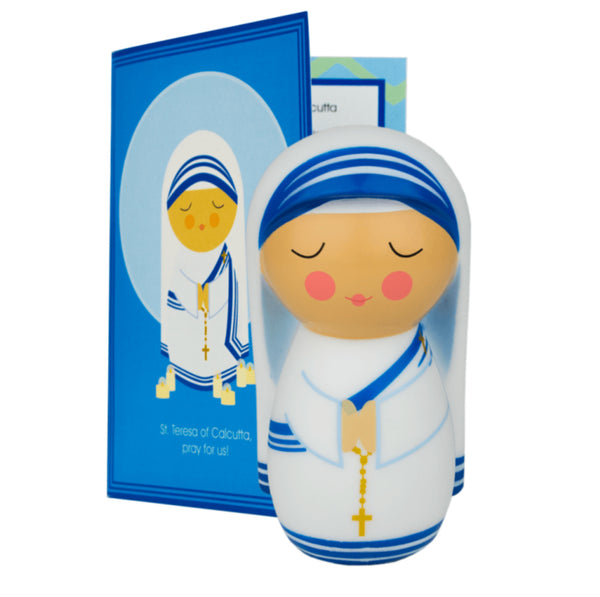 St. Mother Teresa of Calcutta Shining Light Doll