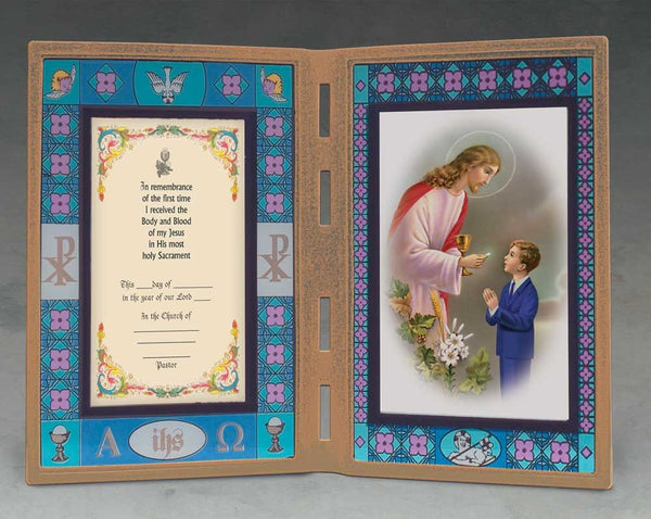 First Communion Frame - Boy