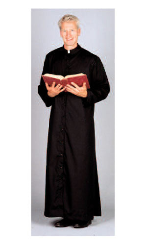 Adult Server & Priest Extra Full Comfort Cut Cassock