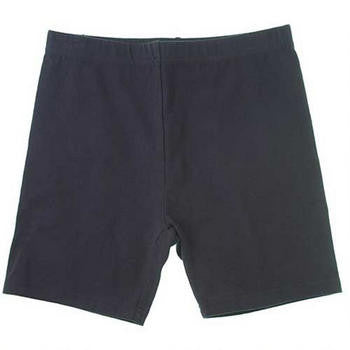 Girls Navy Bike Shorts