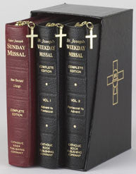 St. Joseph Zippered Missal Set