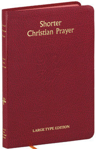 Shorter Christian Prayer - Large Print