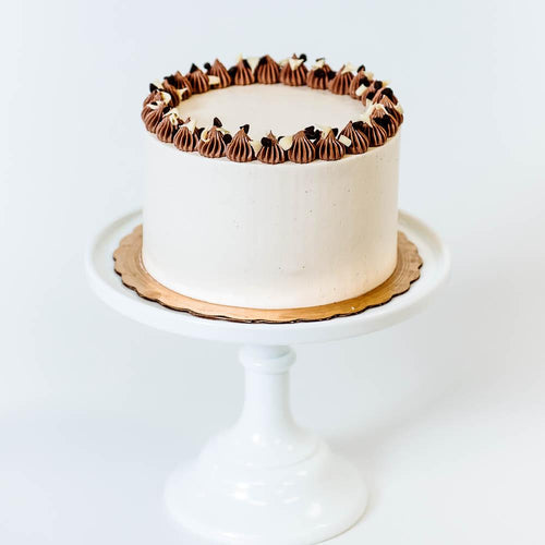 Cocoa and Fig Chocolate Chip Cake
