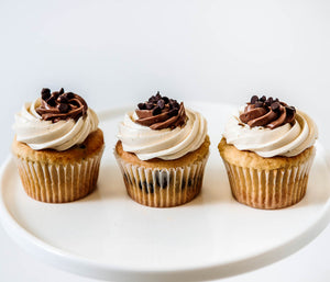 Cocoa and Fig Chocolate Chip Cupcake