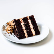 Load image into Gallery viewer, Cocoa and Fig Chocolate Chip Cake Slice