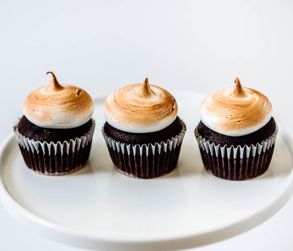 Cocoa and Fig S'mores Cupcake