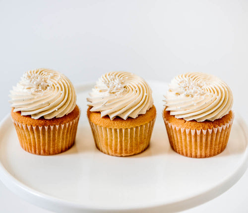Cocoa and Fig Vanilla Bean Cupcake