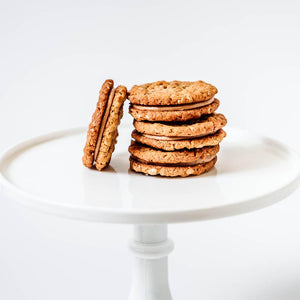 Mini Oatmeal Peanut Butter Sandwich Cookies