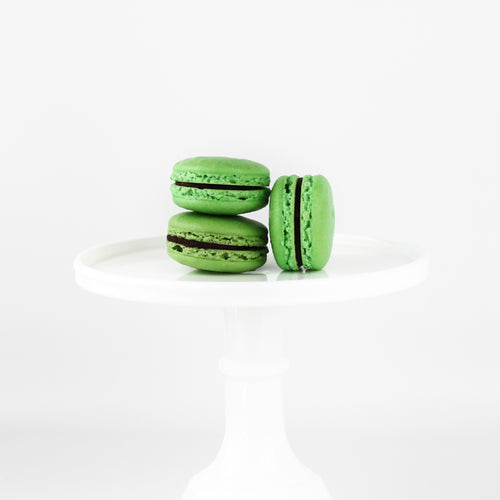 St. Patrick's Day Chocolate French Macaron