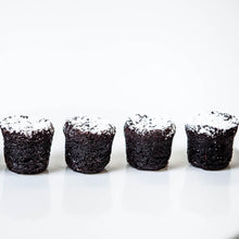 Load image into Gallery viewer, Mini Valrhona Chocolate Bouchons, brown bites