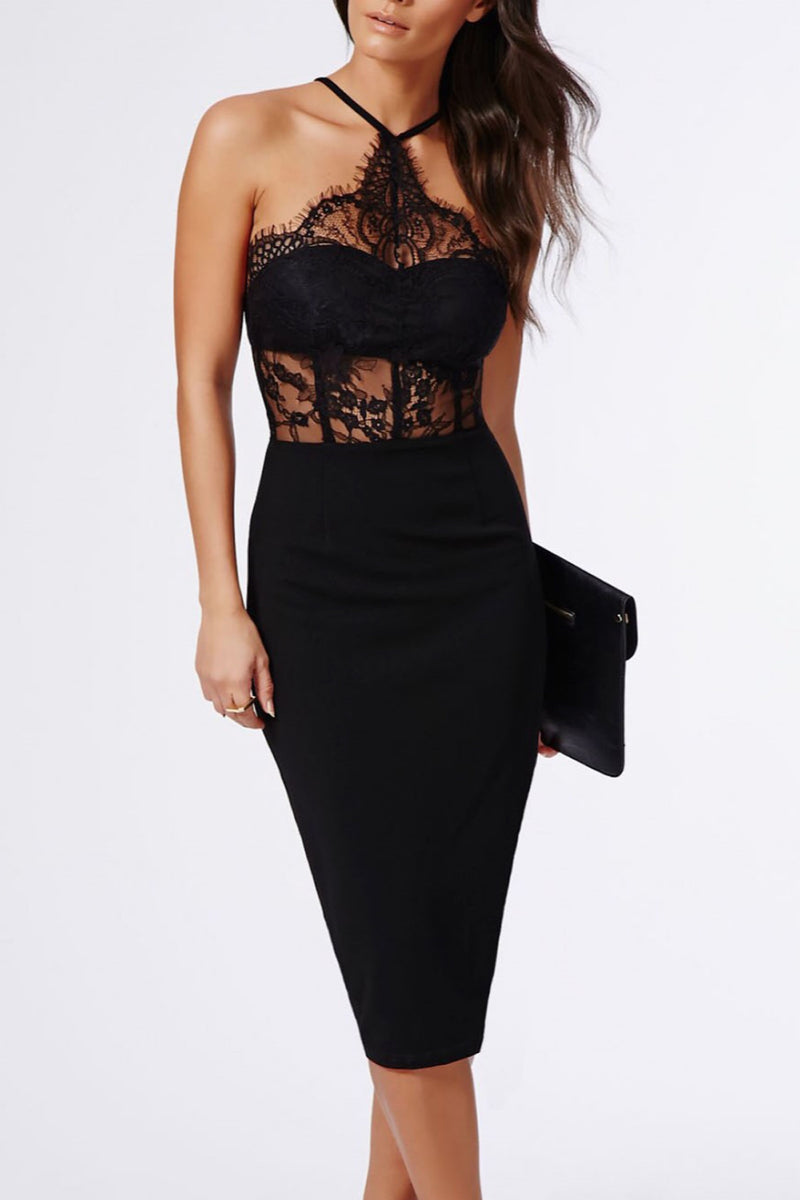 Lace Love Midi Dress