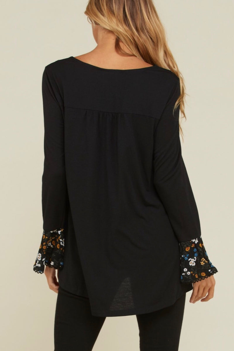 Bestie High Lo Top - Black