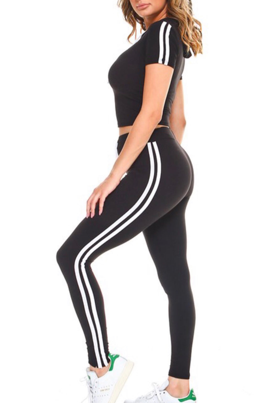 My Striped Activewear Set