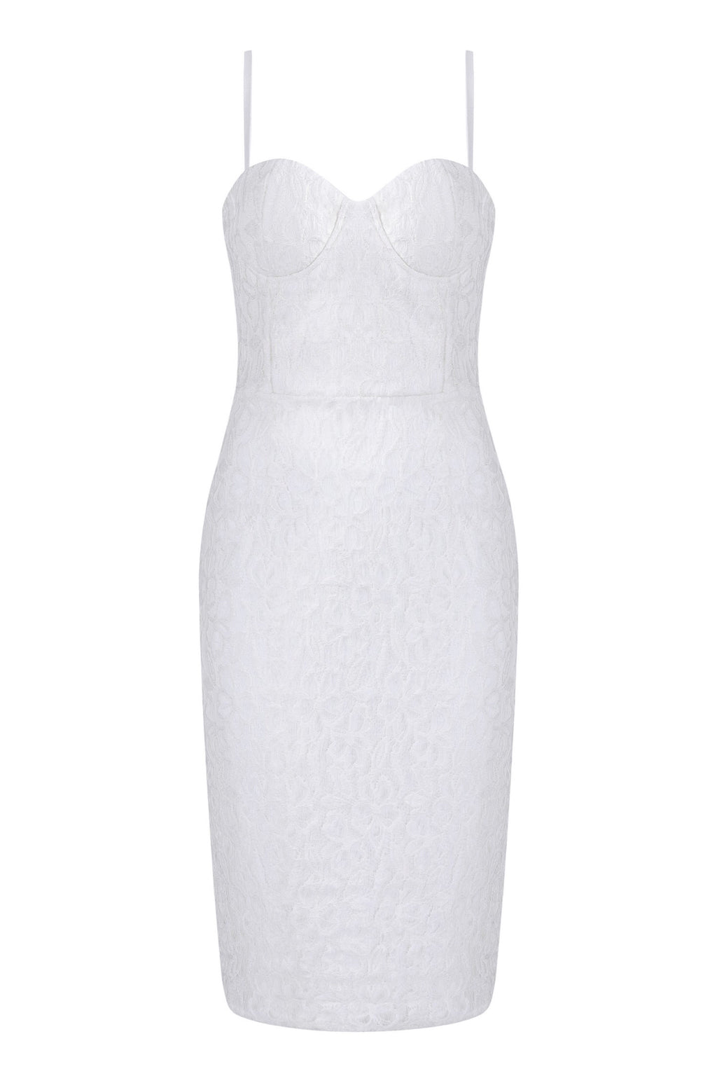 Special Me Midi Bandage Lace Dress