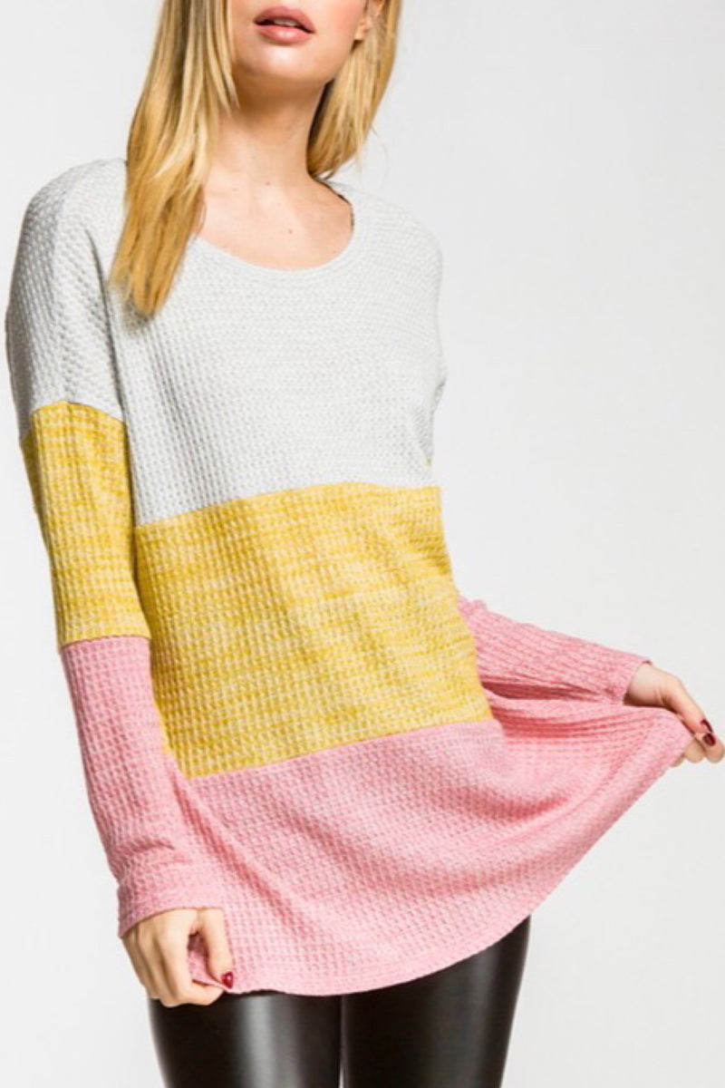 Rainbow Thermal Long Sleeve Top